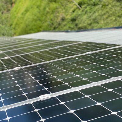 Установка солнечных панелей 8