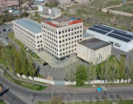 Արևային վահանակների տեղադրում  Արմենիա հեռուստաընկերություն