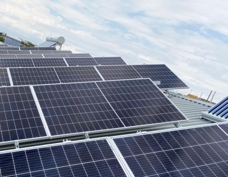 Պռոշյան գյուղի առանձնատներից մեկում տեղադրվեց Սոլարա ընկերության արևային պանելներ