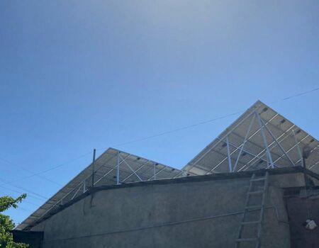Installation of solar panels in Nerqin Shengavit, workshop