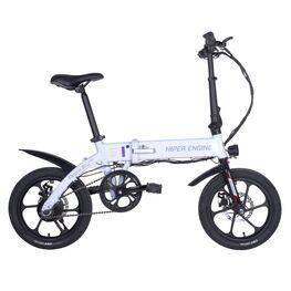 Электровелосипед HE-BL140 белый