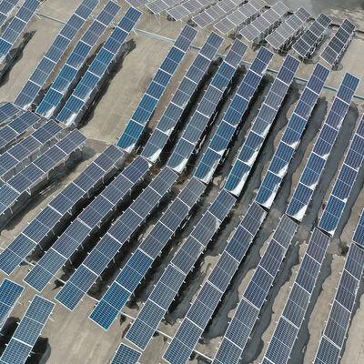 "Installation of solar panels in ""OVAL"" Plastic"