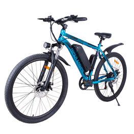 Էլեկտրական հեծանիվ HE-B51 արծաթագույն-կապույտ