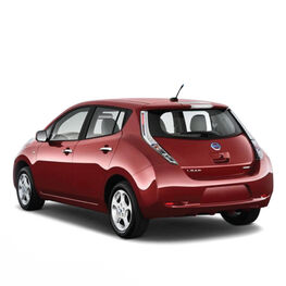 E-car Nissan Leaf 2013
