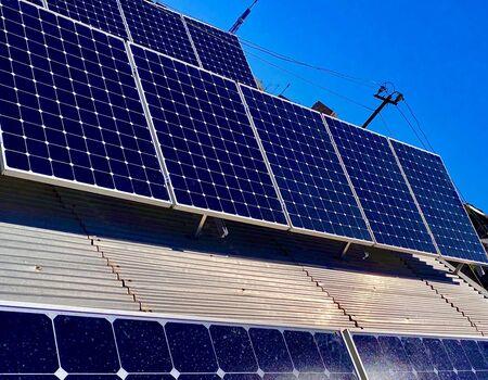 SOLARA-Installation of solar panels in Sari Tagh