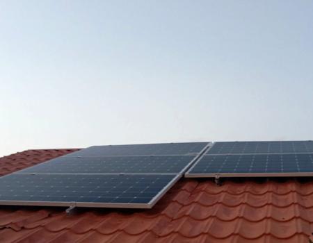 Եղվարդի առանձնատներից մեկում տեղադրվեց Solara արևային վահանակներ