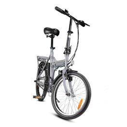 Электровелосипед S/BC-F2G серый