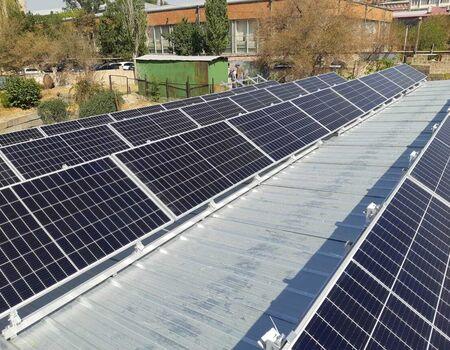 Solara ընկերությունը իրականացրել է արևային վահանակների տեղադրում, Քանաքեռ Զեյթուն Ծննդատանը