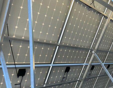 SOLARA - Արևային վահանակների տեղադրում  Ներքին Շենգավիթ, արտադրամաս