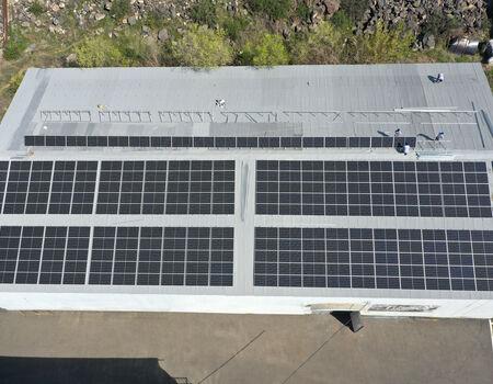 Solara ընկերությունը իրականացրեց արևային վահանակների տեղադրում Armenia TV-ում