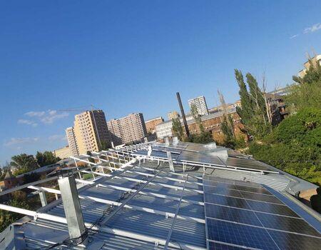 Solara ընկերությունը իրականացրեց արևային վահանակների տեղադրում Քանաքեռ Զեյթուն Ծննդատանը